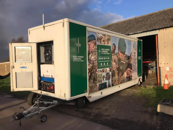 Stage Exhibition or Road Show Trailer