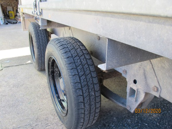 Used dropside trailer