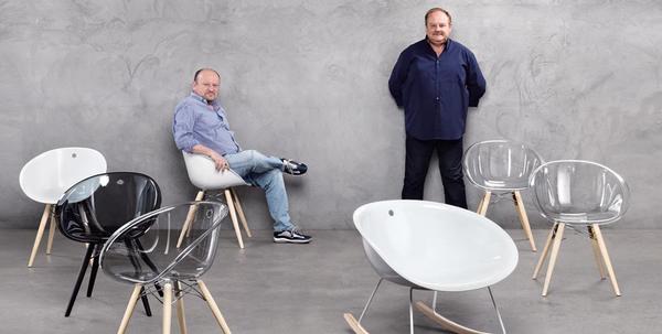 Designers Claudio Dondoli and Marco Pocci