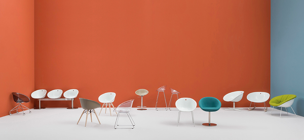 The Gliss range of chairs