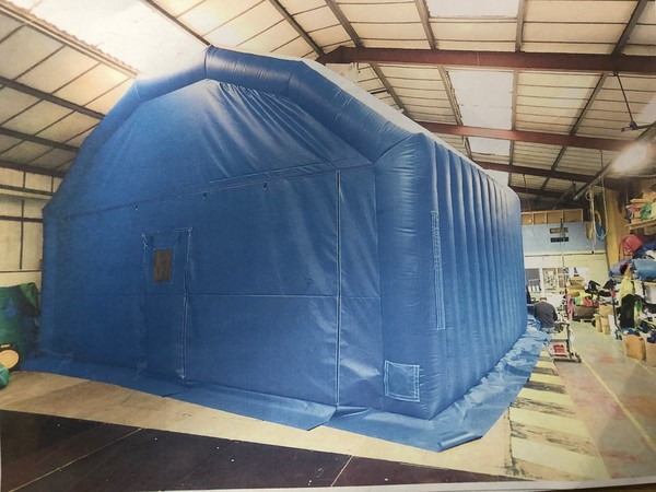 Inflatable work marquee for sale