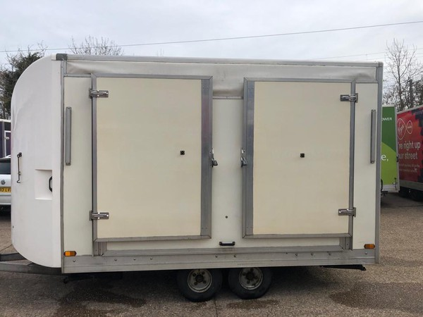 Exhibition box trailer for sale