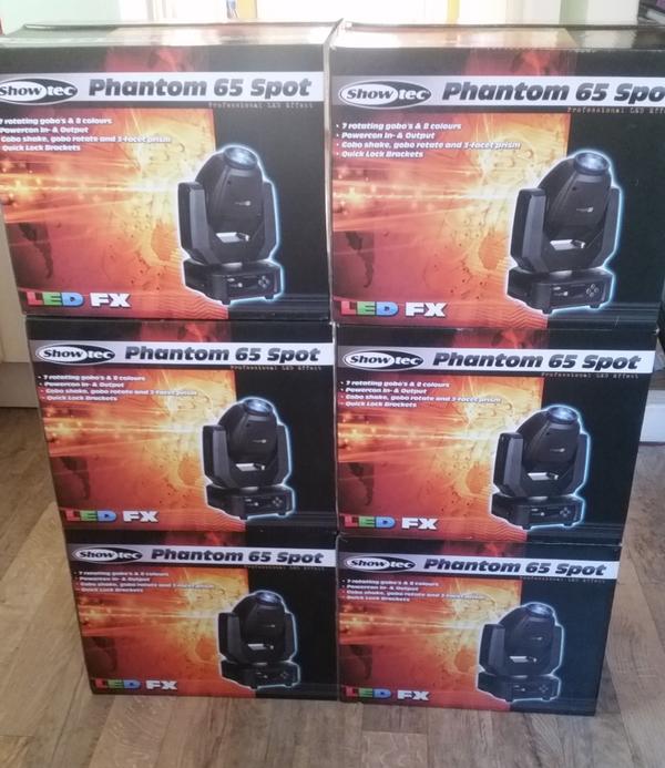 Showtec Phantom 65 moving heads