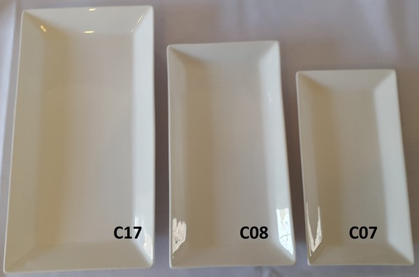 used Rectangular plates for sale