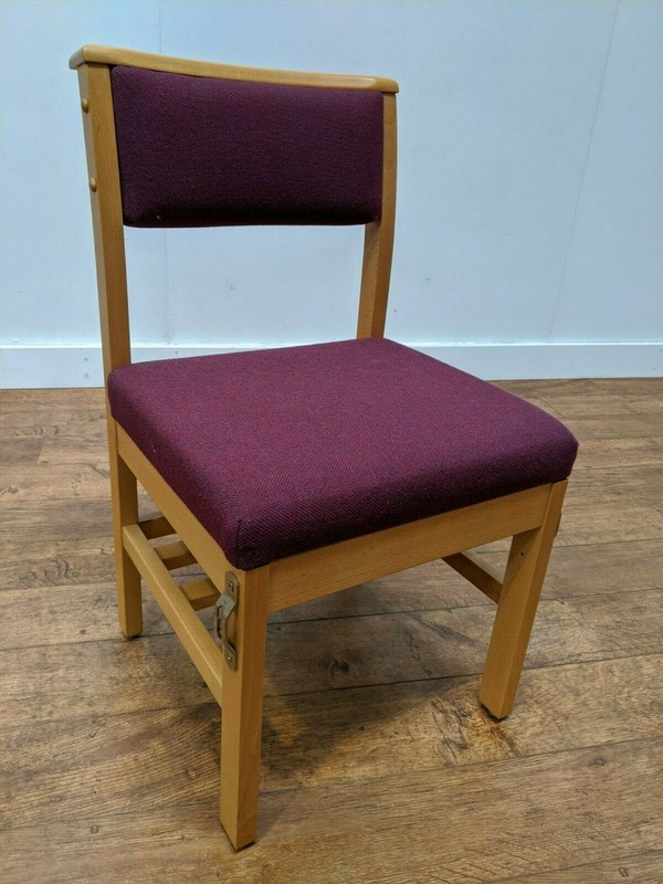 Solid Beech church chairs for sale job lot