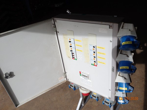 Distribution Board 63a 3x Phase - Oxfordshire