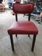 Wooden Cafe or Restaurant Chairs For Sale