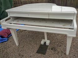 White Baby Grand Piano Shell - Norwich, Norfolk