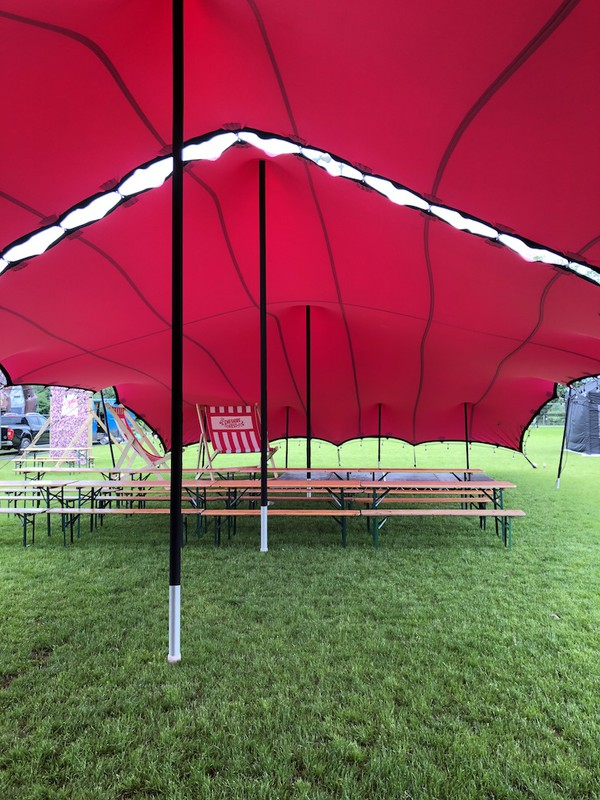 Second Hand Stretch Tents