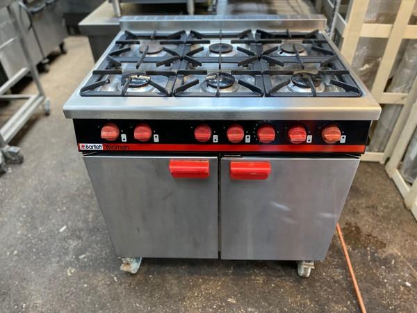 Bartlett LPG 6 Burner Oven Range