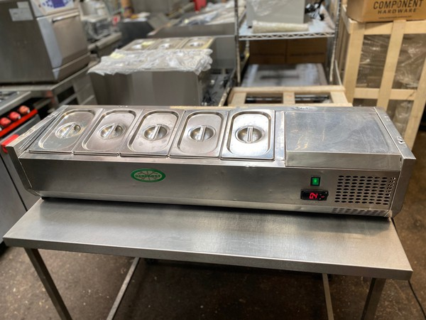 Genfrost 5 Pan Chiller for sale