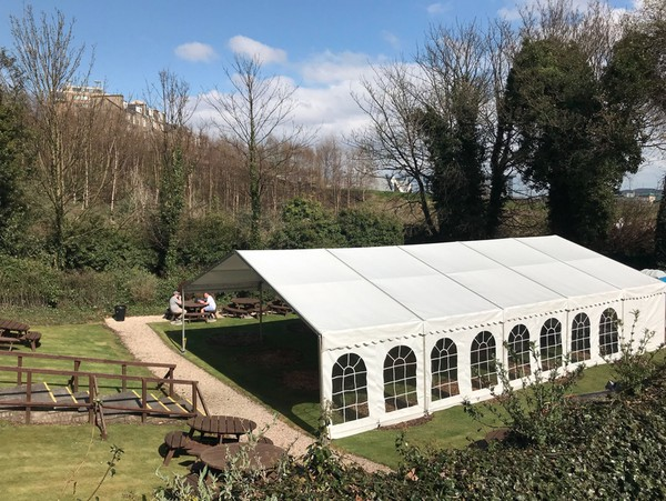 9 x 24m Clearspan Marquee Business