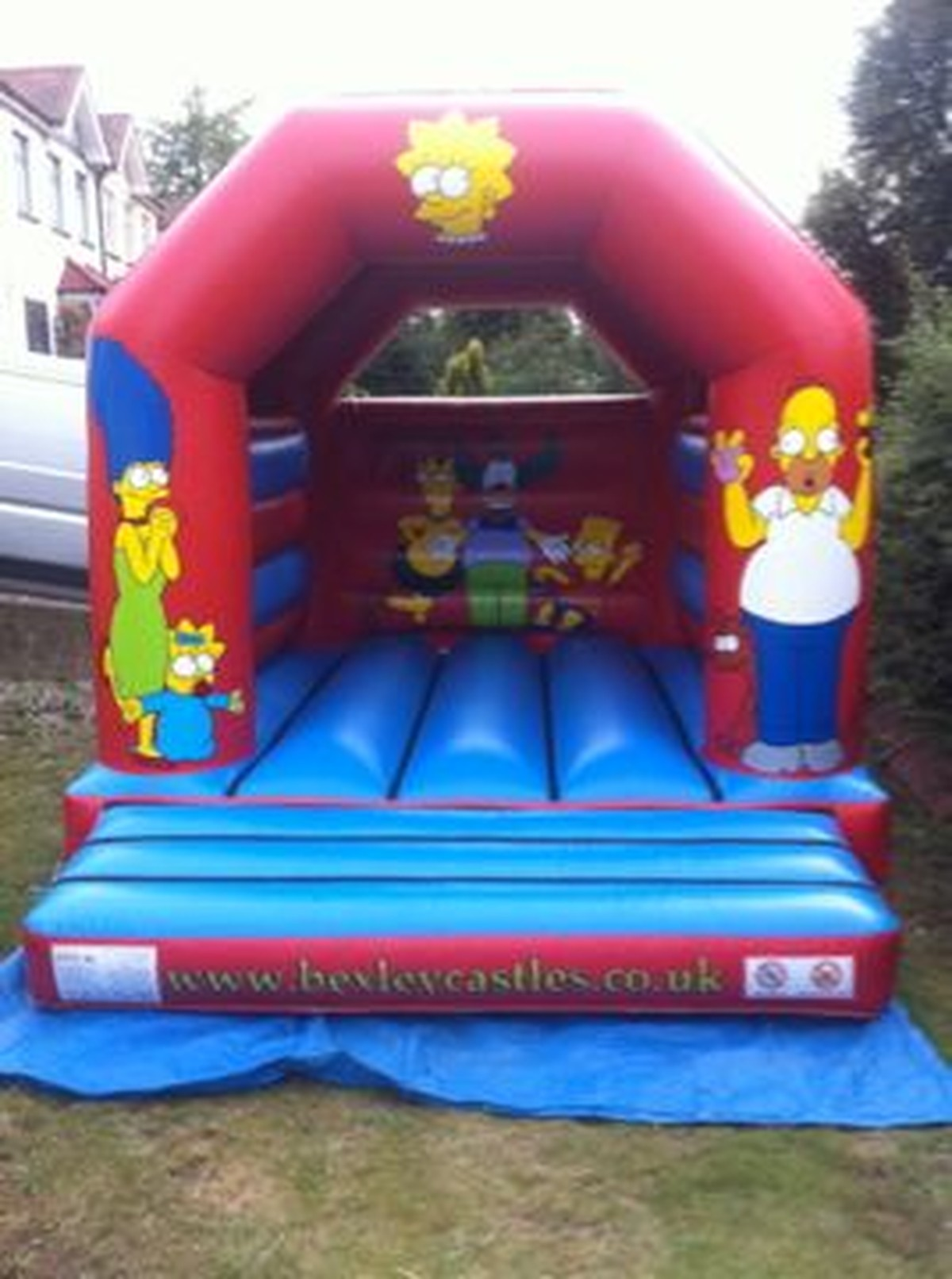 secondhand bouncy castles