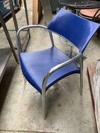 Aluminium cafe chair for sale