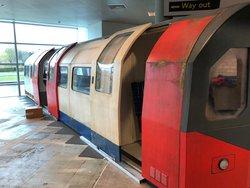 London Underground Train Carriage