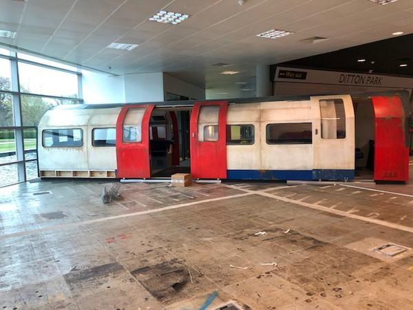 London Underground Tube Carriage