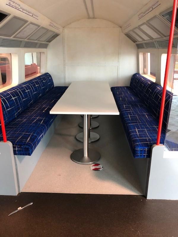 Replica London Underground Train Carriage