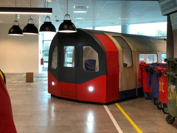 Second Hand Replica London Underground Train Carriage