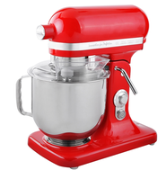 Red iMettos Countertop Stand Mixer Café Latte 7 Litre