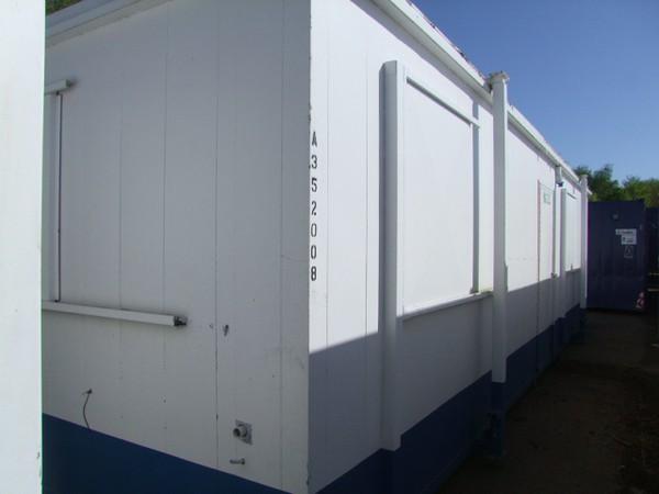 Jack leg site office / cabin