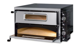 Italian Electric Twin Deck Pizza Oven Economy Range (Holds 4 x 4)