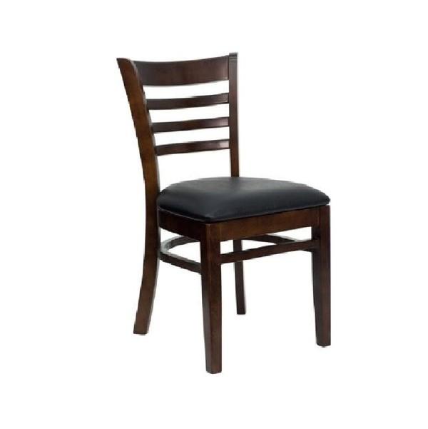 Walnut Framed Dining Chair