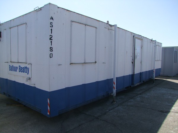 Used 32ft x 10ft Ultra Cabin Complete