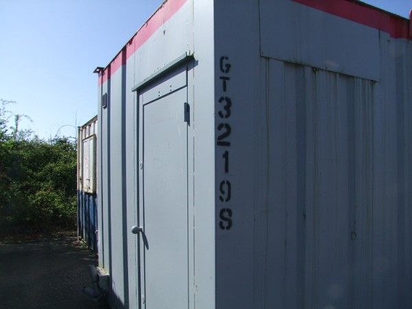 24ft x 10ft  Anti Vandal Toilet / Shower Cabin