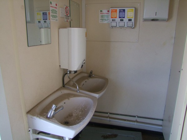 Used Anti Vandal Toilet / Shower Cabin