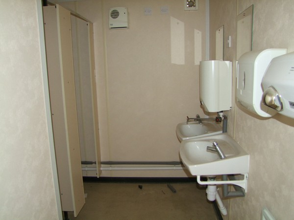Gents & Ladies Toilet/Shower Cabin