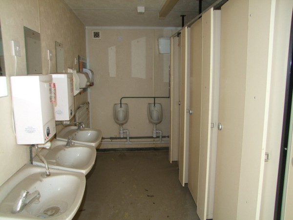 Gents & Ladies Toilet/Shower Unit