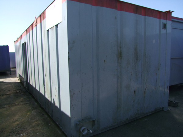 Portable Gents & Ladies Toilet/Shower Unit