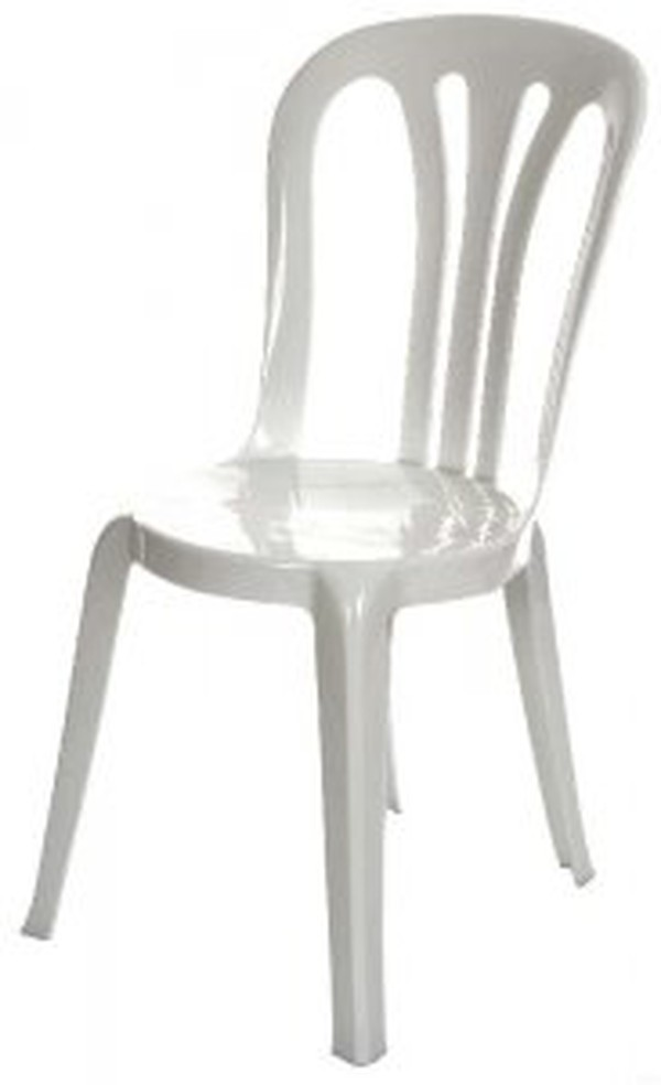 Plastic bistro chairs for sale