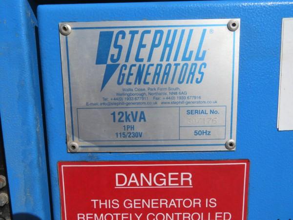 Buy Used Stephill 12kva Diesel Generator SSDX12