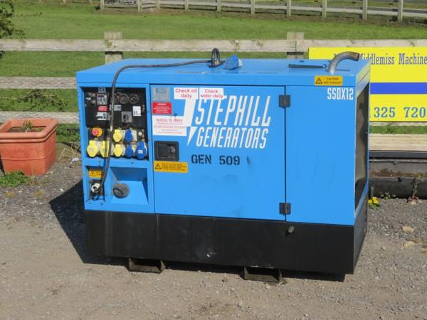 Stephill 12kva Diesel Generator SSDX12 Isuzu Engine