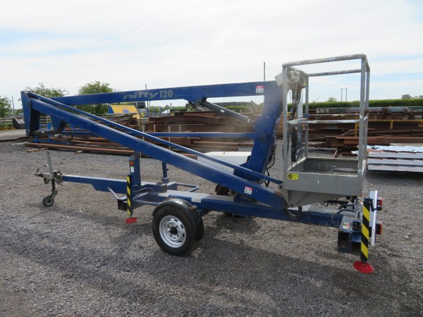 Buy Used Nifty Lift 120T Trailer Mounted Access Platform