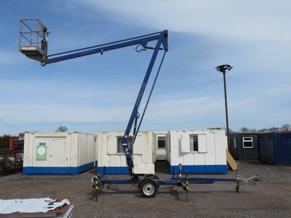 Nifty Lift 120T Trailer Mounted Access Platform 12.3m Working Height