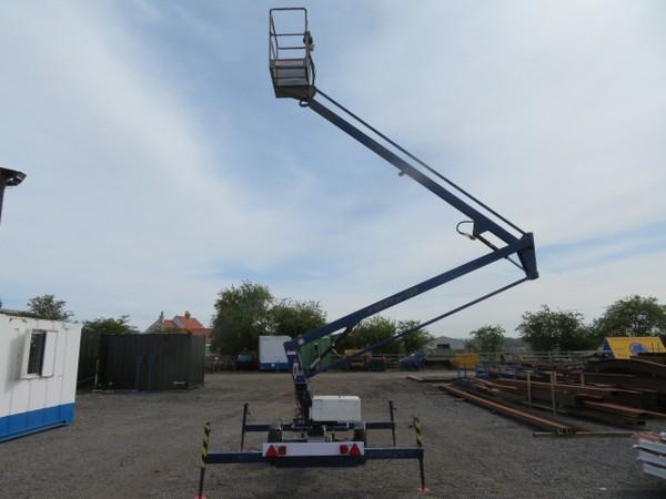 Nifty Lift 120T Trailer Mounted Access Platform LOLER