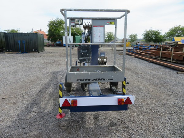 Second Hand Nifty Lift 120T Trailer Mounted Access Platform