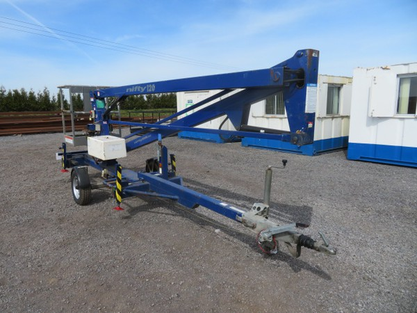 Secondhand Nifty Lift 120T Trailer Mounted Access Platform