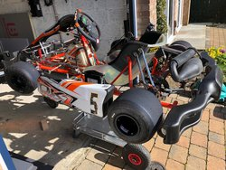 Ok1 Rotax Max Senior with the Trailer and all Accessories