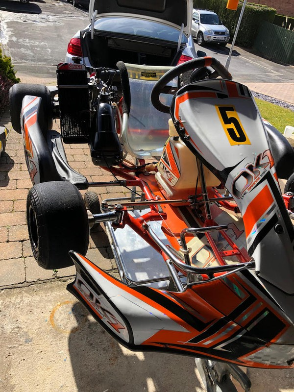 Second Hand Ok1 Rotax Max Senior with the Trailer and all Accessories
