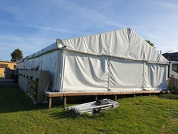 9m x 21m Clearspan Marquee