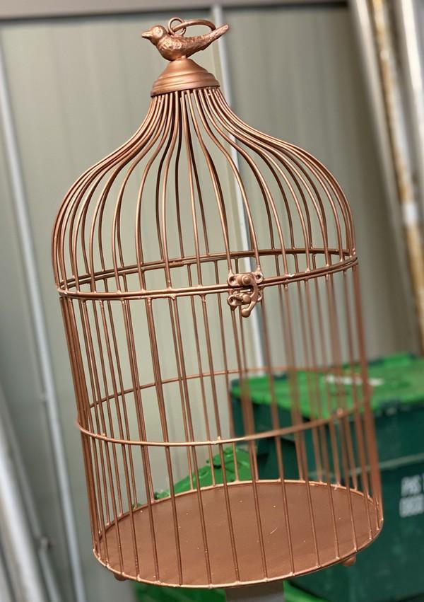 Medium Copper Birdcages