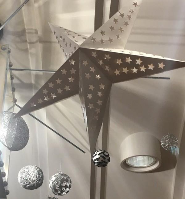 Star Shaped Paper Lanterns