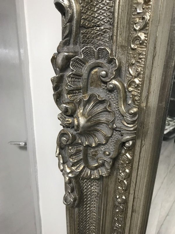 Ornate Silver Mirrors