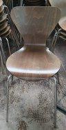Dark Oak Butterfly Chairs