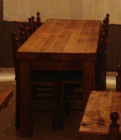 180x60cm Reclaimed Wood Table