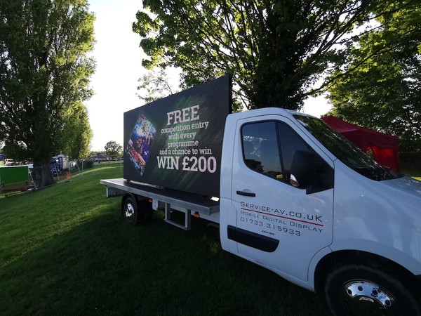 LED Digital Screen event / Advertising Van for Promotions