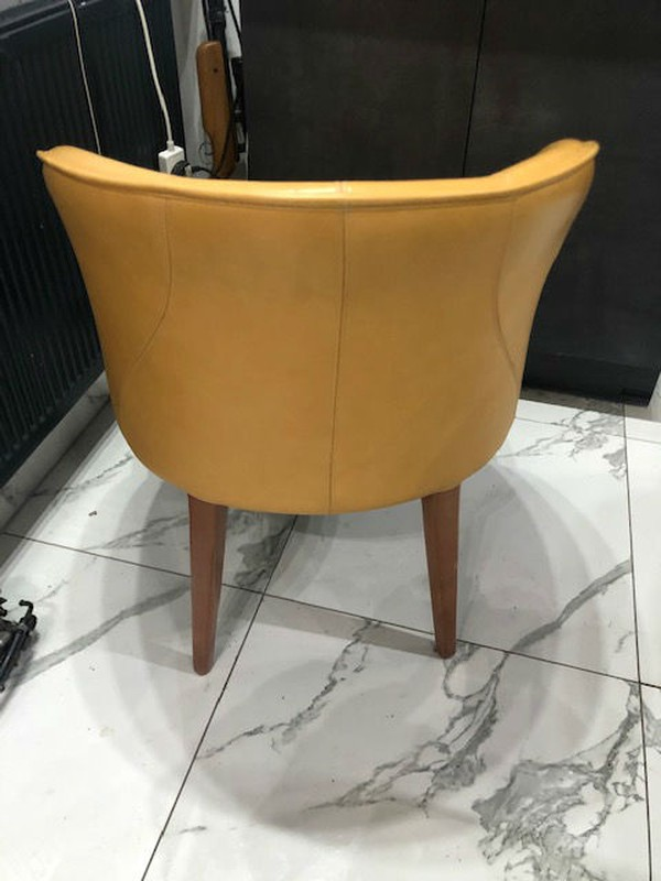 Mustard tub chair for sale